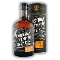 Austrian Empire Navy Rum Cognac Cask + tuba 0,7l 49,5%