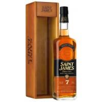 Saint James Vieux 7 yo Dřev.box 70 cl 43%