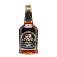 Pusser´s  British Navy Rum Gunpowder Proof  54,5% 0,7l