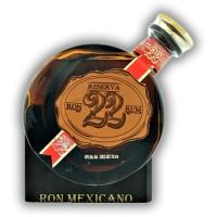 El Ron Prohibido Mexicano Reserva 22   40% 0,7l