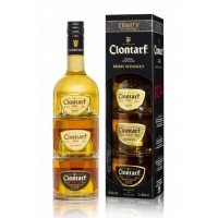 Clontarf Triple Distilled Irish Whiskey 3x 200ml 40%