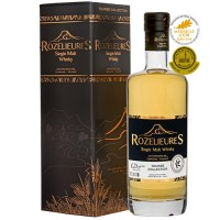 Rozelieures Single Malt Whisky Tourbé Collection 0,7l 46%