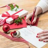 Vánoční přání + dárkové balení