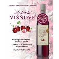 5+1 zdarma Lednické Višňové - ovocné víno polosladké 0,75l