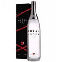 Goral Master Vodka 0,7l 40% s kartónkem