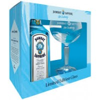 Bombay Sapphire London Dry Gin 40% 0,7l gift box