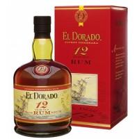El Dorado 12 y. Rum 70 cl 40%