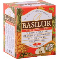 BASILUR Fruit Infusions Assorted Vol. I. přebal 10x1,8g