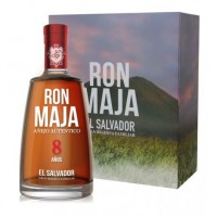 Ron Maja El Salvator 8y Gran reserva familiar 0,7L 40% + sklo