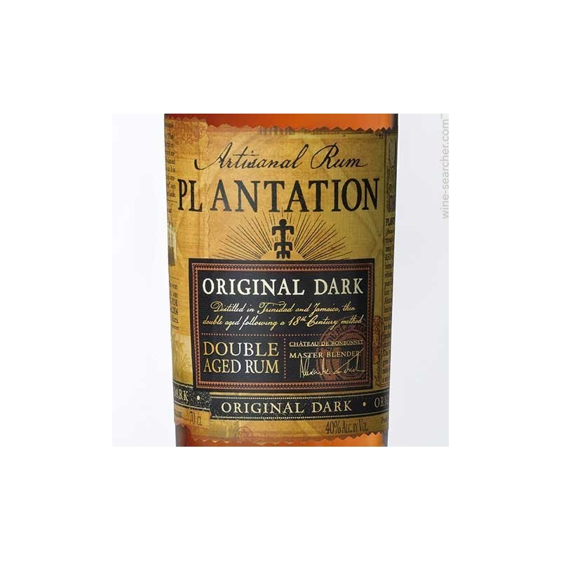 Plantation Artisanal Rum Original Dark 0,7l 40% - Rumpa ...